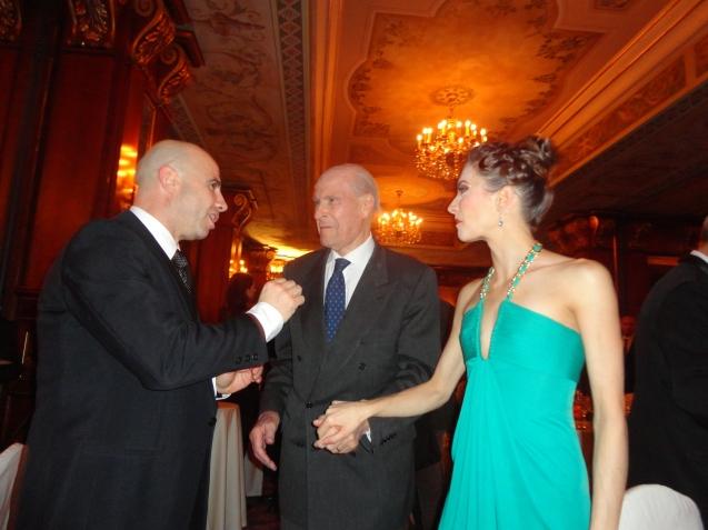 Marco Acerbi, Prof Umberto Veronesi, Erika Lemay